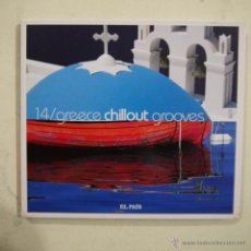 CDs de Música: GREECE CHILLOUT GROOVES - CD 2008. Lote 47789486