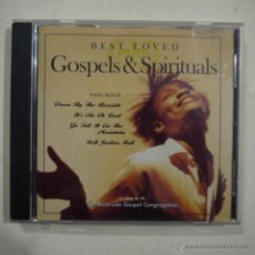 CDs de Música: BEST LOVED GOSPELS & SPIRITUALS - RIVERSIDE GOSPEL CONGREGATION - CD. Lote 47808426