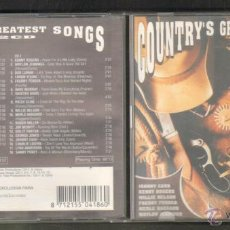 CDs de Música: COUNTRY´S GREATEST SONGS. 2 CD´S. CD-DOBLE-260. Lote 47822618