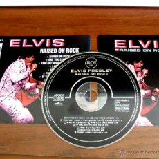 CDs de Música: ELVIS PRESLEY (CD) - RAISED ON ROCK. **** 1ª EDICIÓN 1994 ***. Lote 47820323