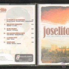 CDs de Música: JOSELITO. SUS MEJORES EXITOS. CD-FLA-602. Lote 47839292