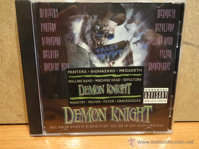 B.S.O. !! DEMON KNIGHT / MUSIC FROM THE PICTURE. CD / ATLANTIC - 1994. 10 TEMAS. CALIDAD LUJO. (Música - CD's Heavy Metal)