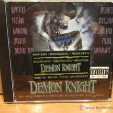 CDs de Música: B.S.O. !! DEMON KNIGHT / MUSIC FROM THE PICTURE. CD / ATLANTIC - 1994. 10 TEMAS. CALIDAD LUJO.. Lote 62257110