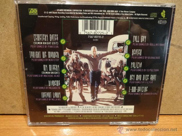 CDs de Música: B.S.O. !! DEMON KNIGHT / MUSIC FROM THE PICTURE. CD / ATLANTIC - 1994. 10 TEMAS. CALIDAD LUJO. - Foto 2 - 62257110