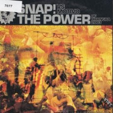 CDs de Música: SNAP! VS MOTIVO - THE POWER OF BHANGRA 2003 - CD SINGLE PROMOCIONAL. Lote 47855926