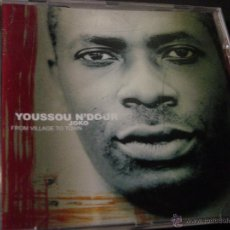 CDs de Música: YOUSSOU N'DOUR. JOKO. FROM VILLAGE TO TOWN. CD EDICION EXTRANJERA. Lote 47856090