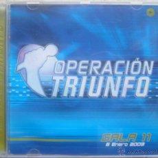 CDs de Música: OPERACIÓN TRIUNFO - GALA 11 - 6 ENERO 2003. Lote 47865453