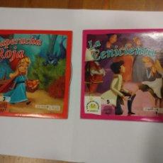CDs de Música: LOTE 2 CD BIBLIOTECA INFANTIL EL MUNDO - LA CENICIENTA Y CAPERUCITA ROJA - LOS MEJORES CUENTOS . Lote 47900556