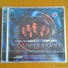 CDs de Música: CD NUEVO PRECINTADO BSO BANDA SONORA ORIGINAL CINE ESPAÑOL MÁS DE MIL CÁMARAS VELAN POR TU SEGURIDAD. Lote 47938122