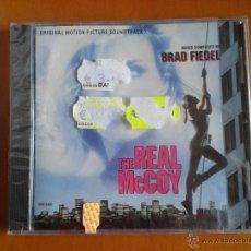 CDs de Música: CD NUEVO PRECINTADO BSO BANDA SONORA ORIGINAL CINE THE REAL MCCOY MC COY BRAD FIEDEL. Lote 47938286