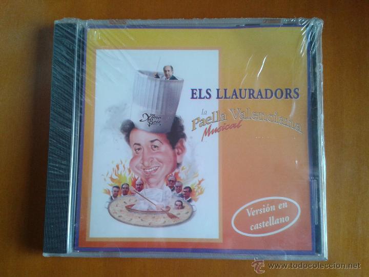 ELS LLAURADORS - LA PAELLA VALENCIANA MUSICAL - CD NUEVO PRECINTADO VERSION CASTELLANO XIMO BOIX (Música - CD's Country y Folk)