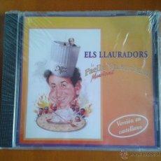 CDs de Música: ELS LLAURADORS - LA PAELLA VALENCIANA MUSICAL - CD NUEVO PRECINTADO VERSION CASTELLANO XIMO BOIX. Lote 52158016
