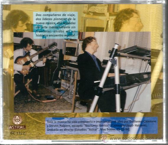 CDs de Música: CD GUILLERMO CAZENAVE & STEVEN HALPERN : SPANISH IMPROMPTU - Foto 2 - 47944348