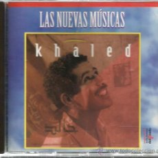 CDs de Musique: CD KHALED ( LAS NUEVAS MUSICAS ) . Lote 47945317