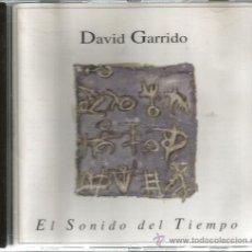 CDs de Música: CD DAVID GARRIDO : EL SONIDO DEL TIEMPO . Lote 47945362