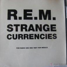CDs de Música: REM / R.E.M. STRANGE CURRENCIES. 1 SONG. CD PROMO UK. W0290CDDJ. Lote 47949695