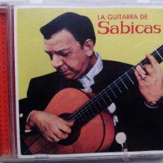 CDs de Música: LA GUITARRA DE SABICAS. CD UNIVERSAL. ESPAÑA 2004. OLÉ. FLAMENCO. AGUSTÍN CASTELLÓN CAMPOS.. Lote 47954638