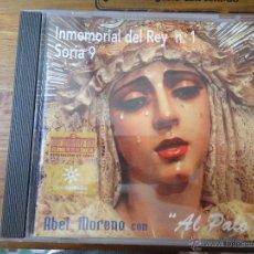 CDs de Música: CD PRECINTADO SEMANA SANTA - ABEL MORENO - CADIZ - INMEMORIAL DEL REY 1 SORIA 9 AL PALO. Lote 138885328