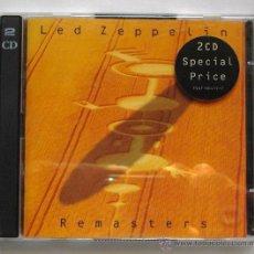 CDs de Música: LED ZEPPELIN - REMASTERS ( 2 CD ) 1990 - 26 TEMAS. Lote 47977170