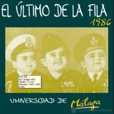 CDs de Música: EL ULTIMO DE LA FILA - UNIVERSIDAD DE MALAGA 1986 (CD). Lote 219122845