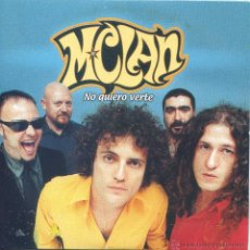 CDs de Música: M CLAN / NO QUIERO VERTE (CD SINGLE CARTON 1999). Lote 115313852