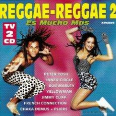 CDs de Música: VARIOS - REGGAE, REGGAE 2 - 2CDS. Lote 47996047