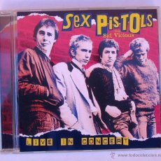 CDs de Música: SEX PISTOLS - LIVE IN CONCERT (CD). Lote 48002306