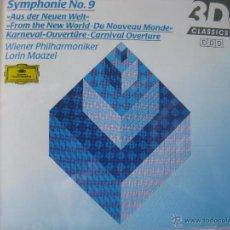 CDs de Música: ANTONÍN DVORÁK SYMPHONIE Nº 9 WIENER PHILHARMONIKER. LORIN MAAZEL. 1993 (VER DETALLE EN FOTOGRAFIAS). Lote 48014328