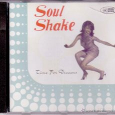 CDs de Música: SOUL SHAKE - TIME FOR DREAMS - ANIMAL RECORDS 1996. Lote 48095369