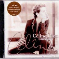 CDs de Música: CÉLINE DION - S'IL SUFFISAIT D' AIMER. Lote 48096528