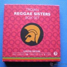 CDs de Música: VARIOS - REGGAE REGGAE SISTERS -TROJAN BOX/CD ( 3 CDS) UK 2003 VER DESCRIPCION Y FOTOS PDELUXE. Lote 48101092
