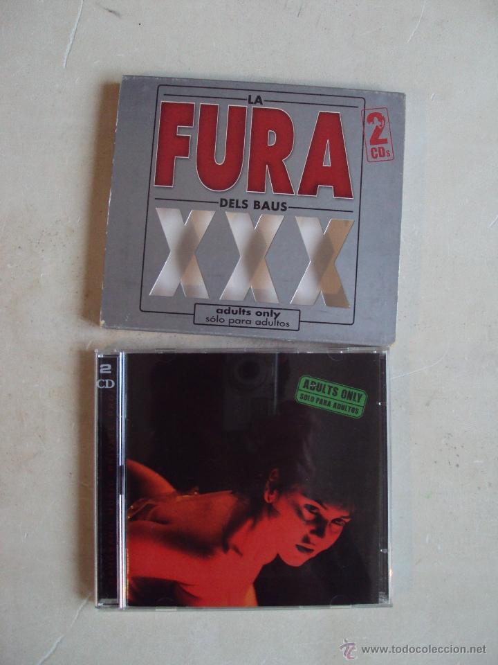 CDs de Música: LA FURA DELS BAUS, XXX, ADULTS ONLY, DOBLE CD 2002. - Foto 3 - 48102603