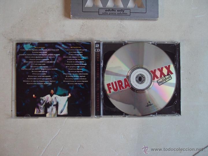 CDs de Música: LA FURA DELS BAUS, XXX, ADULTS ONLY, DOBLE CD 2002. - Foto 4 - 48102603