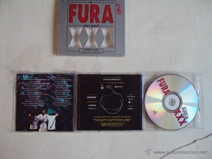 CDs de Música: LA FURA DELS BAUS, XXX, ADULTS ONLY, DOBLE CD 2002. - Foto 5 - 48102603