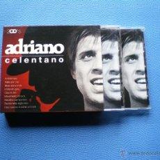 CDs de Música: ADRIANO CELENTANO . BOX/CD (2CDS ALBUM) 2005 PDELUXE. Lote 48161257