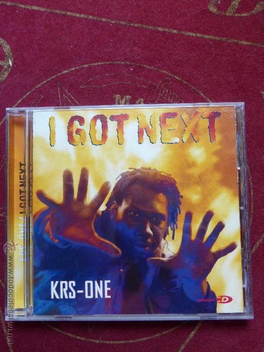 KRS-ONE - I GOT NEXT - BUEN ESTADO - HIP HOP - (Música - CD's Hip hop)