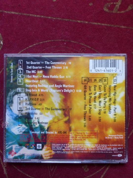 CDs de Música: Krs-One - I Got Next - BUEN ESTADO - HIP HOP - - Foto 2 - 134848947