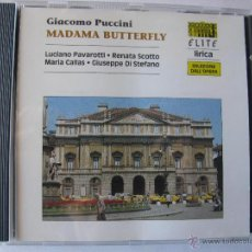 CDs de Música: GIACOMO PUCCINI MADAMA BUTTERFLY LUCIANO PAVAROTTI RENATA SCOTTO MARIA CALLAS (DETALLE VER FOTOS). Lote 48193497
