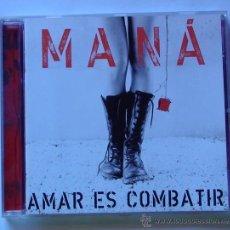 CDs de Música: MANÁ - AMAR ES COMBATIR (CD). Lote 48194809