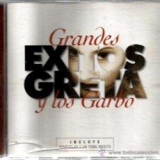 CDs de Música: CD GRETA Y LOS GARBO : GRANDES EXITOS ( REMEZCLAS + 1 TEMA INEDITO ) . Lote 48199648