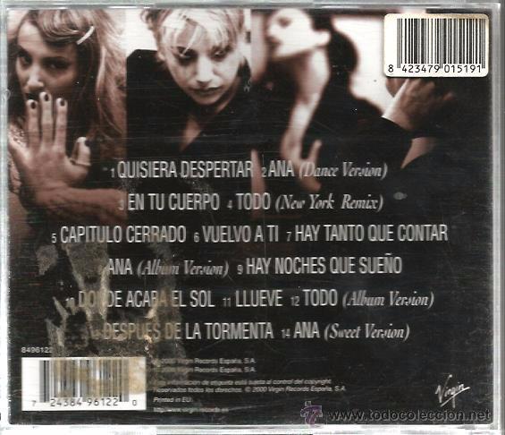 CDs de Música: CD GRETA Y LOS GARBO : GRANDES EXITOS ( REMEZCLAS + 1 TEMA INEDITO ) - Foto 2 - 48199648
