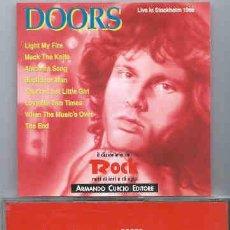 CDs de Música: THE DOORS - LIVE IN STOCKHOLM 1968 - NO OFICIAL. RARO. EDICION ITALIANA 1991. Lote 48199873