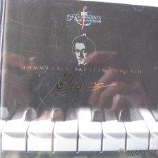 CDs de Música: MONTBLANC PHILHARMONIA OF THE NATIONS JUSTUS FRANTZ. CHOPIN. MB 4 (DETALLES EN FOTOGRAFÍAS). Lote 48203030