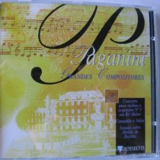 CDs de Música: PAGANINI. ORQUESTA SINFÓNICA HAMBURGO. DIRECTOR:GUDOLFF RENDELL. CD O INDEPENDENTE (VER FOTOGRAFIAS). Lote 48208460