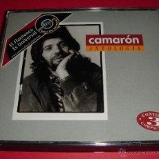 CDs de Música: CAMARÓN DE LA ISLA / ANTOLOGÍA / GRANDES ÉXITOS / LO MEJOR DE / 3 CD. Lote 48211083