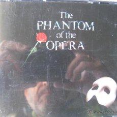 CDs de Música: THE PHANTOM OF THE OPERA. DIRIGIDA POR HAROLD PRINCE.1987 THE REALLY USEFUL GROUP. 2 CDS (VER FOTOS). Lote 48214143
