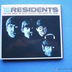 CDs de Música: THE RESIDENTS MEET THE RESIDENTS CD ALBUM CARTON USA 1988 GATEFOLD PDELUXE. Lote 48215190