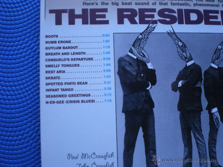 CDs de Música: THE RESIDENTS MEET THE RESIDENTS CD ALBUM CARTON USA 1988 GATEFOLD PDELUXE - Foto 3 - 48215190