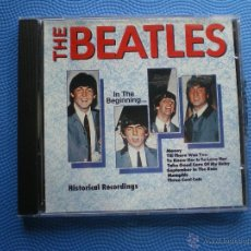 CDs de Música: THE BEATLES IN THE BEGINNING.... CD FRANCE 89 PDELUXE. Lote 48233548