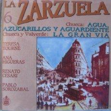CDs de Música: AGUA AZUCARILLOS Y AGUARDIENTE - LA GRAN VIA T.TOURNE A.HIGUERAS R.CESARI PABLO SOROZABAL(VER FOTOS). Lote 48237628